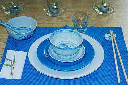 Chinese table decoration : chinese table setting - pezcame.com