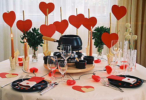 Fondue Decoration