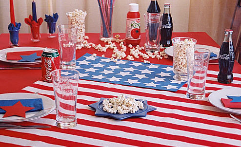 American table decoration